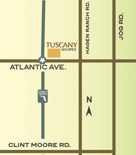 Tuscany Shoppes Arial Map
